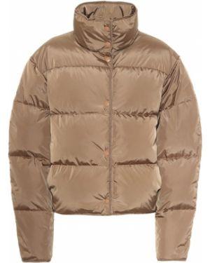 Pikowana kurtka szary brązowy Acne Studios