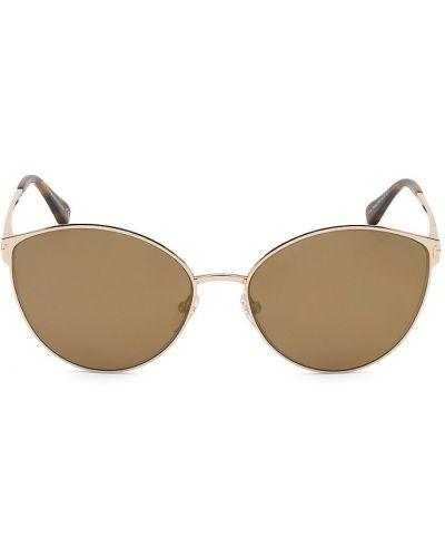 Солнцезащитные очки металлические - желтые Tom Ford