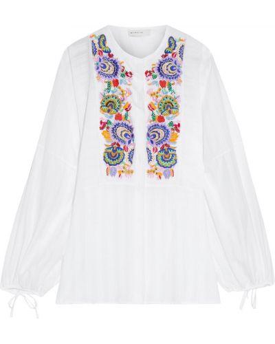 Bluzka z cekinami - biała Etro