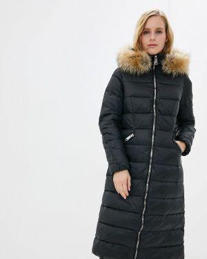 Зимняя куртка черная осенняя Ostin