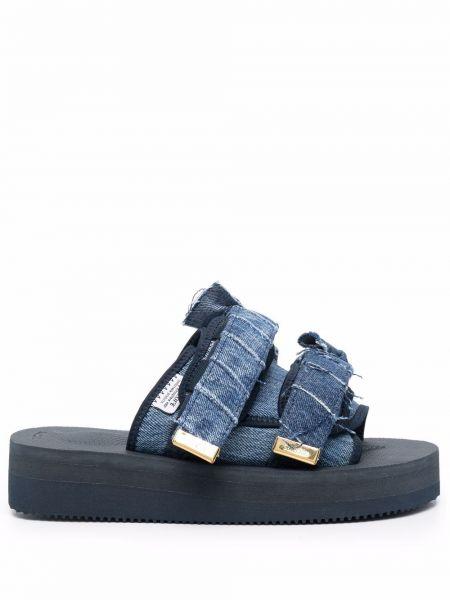 Niebieskie jeansy Suicoke