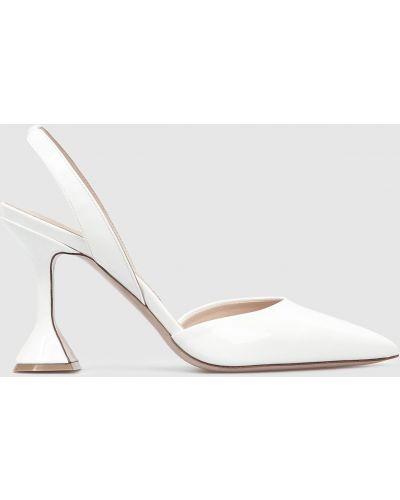 Кожаные туфли - белые Babe Pay Pls