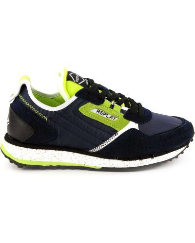 Sneakersy skorzane Replay