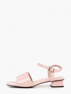 Розовые кожаные сандалии Tuffoni