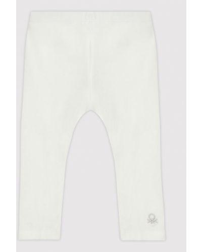 Legginsy - białe United Colors Of Benetton