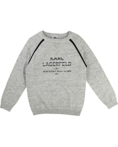Брендовый пуловер Karl Lagerfeld