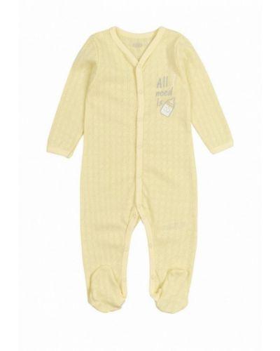 Комбинезон желтый текстильный фламинго текстиль