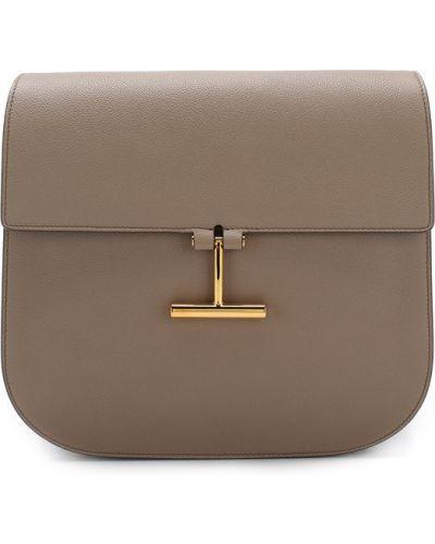 Кожаный сумка маленькая с клапаном Tom Ford