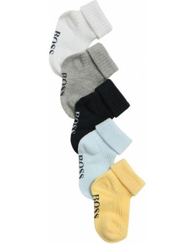 Prążkowane skarpety bawełniane Hugo Boss