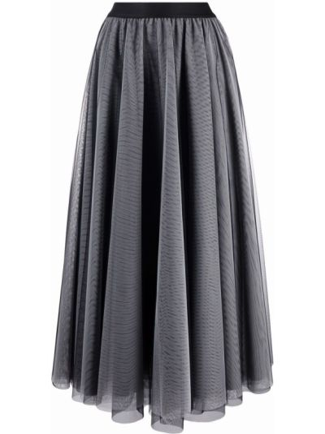 Niebieska spódnica tiulowa Blanca Vita