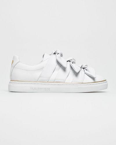 Белые джинсы Trussardi Jeans