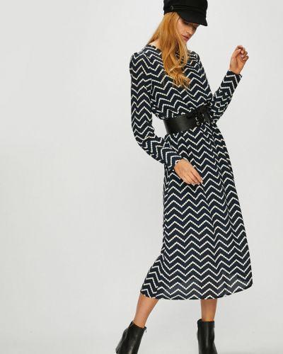 Платье макси с длинными рукавами на молнии Vero Moda
