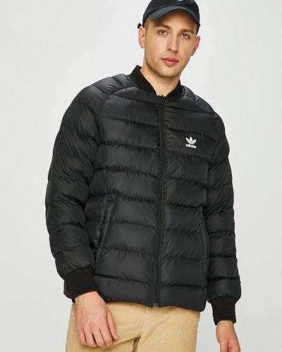 Утепленная куртка стеганая укороченная Adidas Originals
