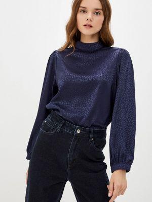 Синяя блузка с длинными рукавами Zibi London