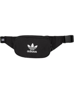 Сумка через плечо белая поясная Adidas Originals