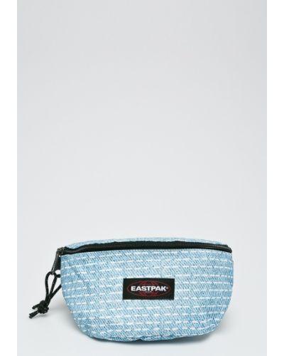 Синяя сумка текстильная Eastpak