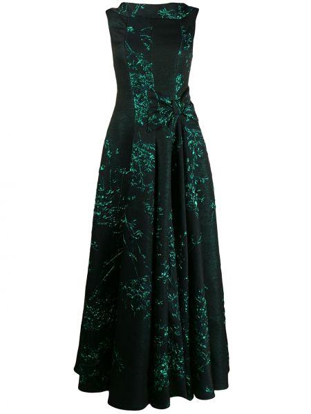 Платье на молнии со складками Talbot Runhof