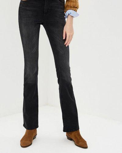 Широкие джинсы расклешенные черные Only