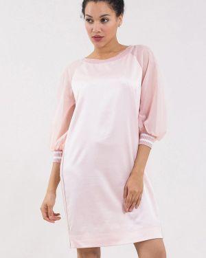 Розовое платье Maxa