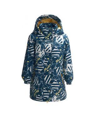 Пальто синее мембранное Button Blue
