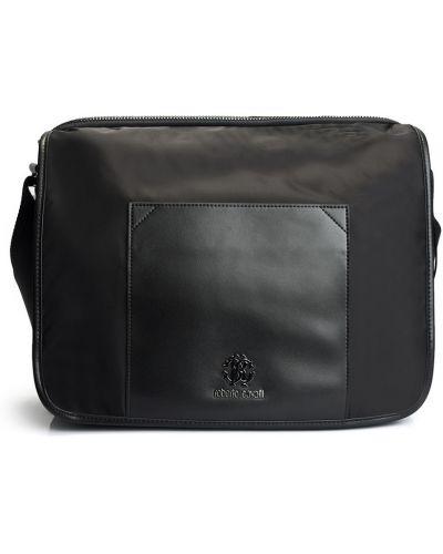 Czarna torba Roberto Cavalli