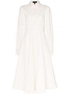 Открытое платье с открытой спиной на пуговицах с воротником Anouki