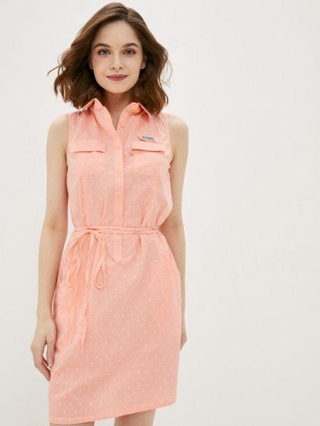 Платье розовое платье-сарафан Columbia