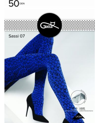 Niebieskie rajstopy Gatta