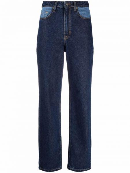 Прямые джинсы классические - синие Rotate