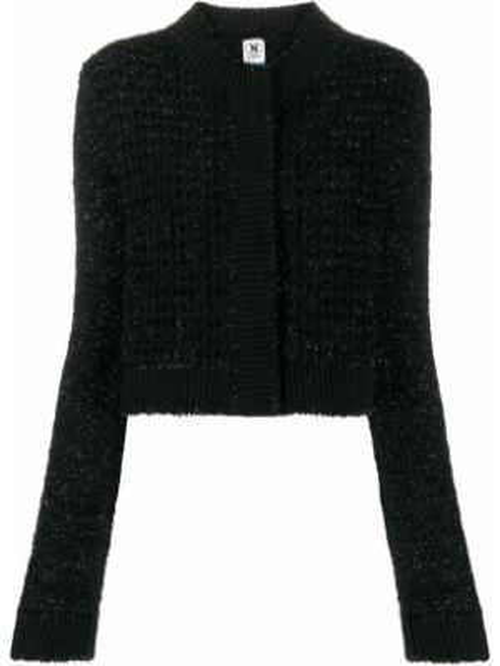 Черный пиджак твидовый M Missoni