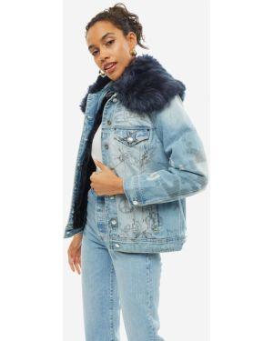 Утепленная куртка джинсовая Guess