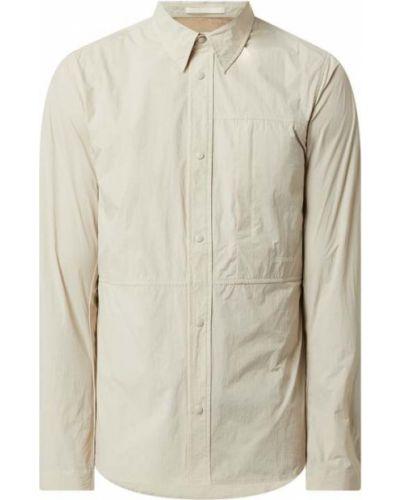 Biała koszula z długimi rękawami - biała Norse Projects