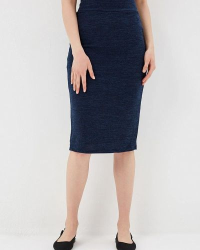 Синяя юбка облегающая Alina Assi