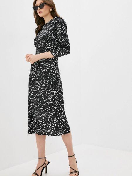 Платье прямое черное Imocean