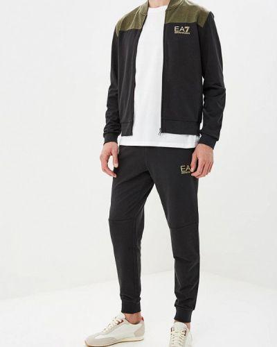 Черный спортивный костюм Ea7