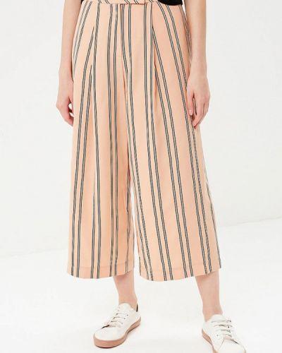 Бежевые брюки Topshop