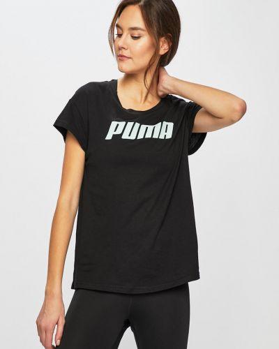 Спортивная футболка свободная черная Puma