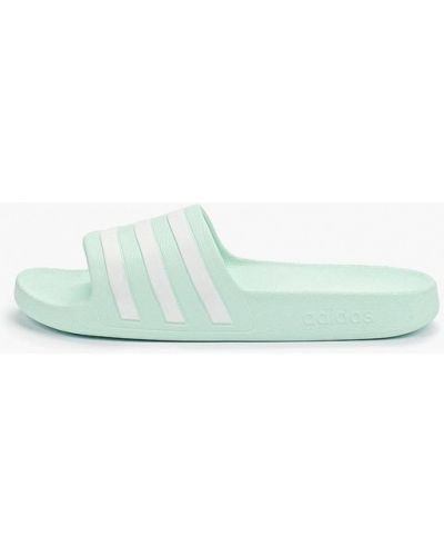 Сланцы бирюзовый Adidas
