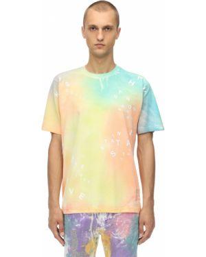 T-shirt bawełniany z printem Klsh - Kids Love Stain Hands