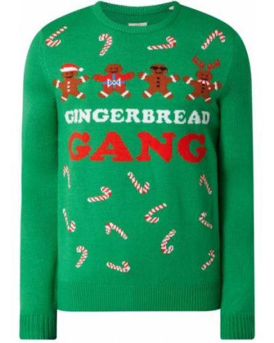 Sweter - zielony Montego