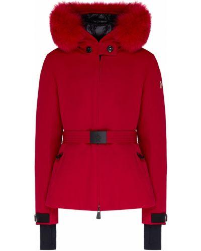Куртка с капюшоном на молнии с карманами Moncler
