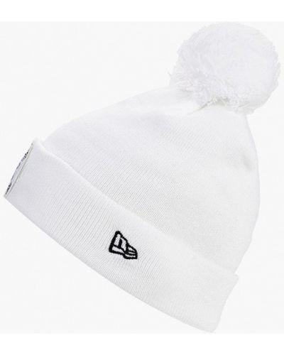 Белая шапка осенняя New Era