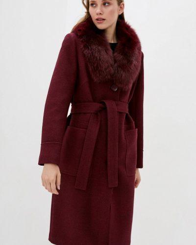 Пальто - бордовое Danna