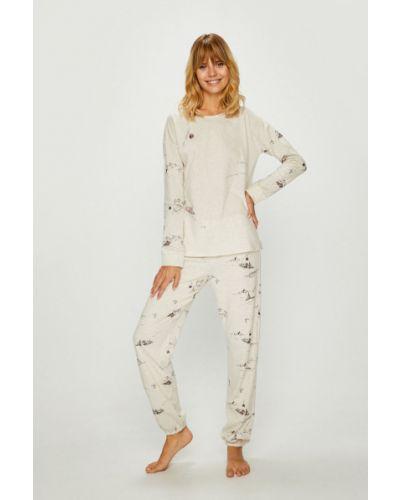 Пижама в полоску бежевая Triumph