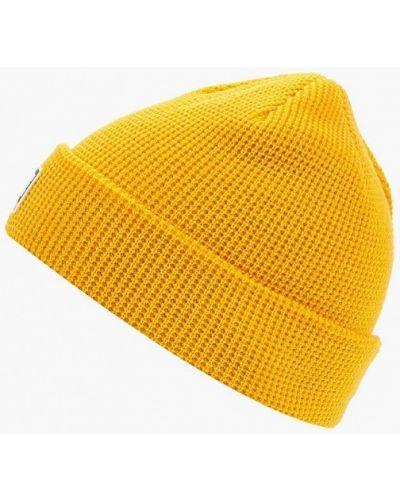 Желтая шапка осенняя Dc Shoes
