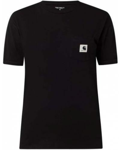 T-shirt bawełniana - czarna Carhartt Work In Progress
