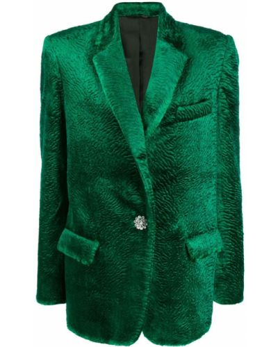 Куртка бархатная оверсайз Attico