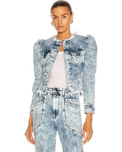 Куртка с воротником - синяя Retrofete