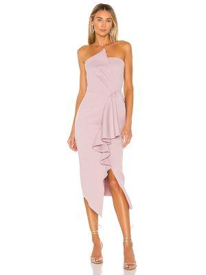 Свободное деловое платье с декольте Elliatt