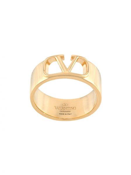 Pierścień złoto Valentino Garavani